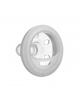 Tommee Tippee Breast-like Night Time Pacifier - 0-6 months, 2pk