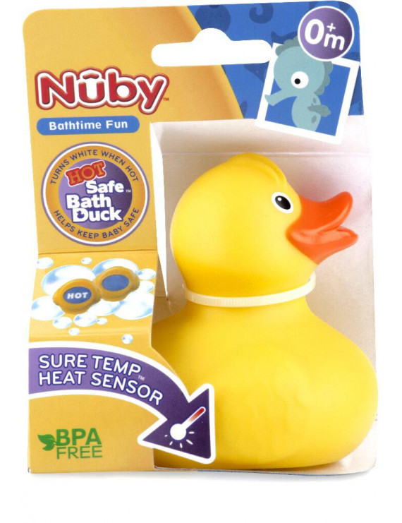Nuby™ Hot Safe Bath Duck with Heat Sensor