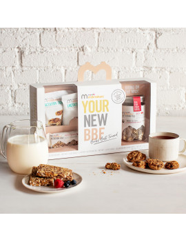 Munchkin Milkmakers Sampler Pack, Includes Lactation Cookies, Tea, and Bars (Flavor May Vary)