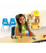 Learning Resources Multicolored Snap Cubes, Set of 100