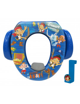 "Disney Jake and The Never Land Pirates ""Treasure Ahoy"" Soft Potty with Potty Hook"