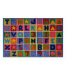 Fun Rugs Numbers and Letters Kids' Rug