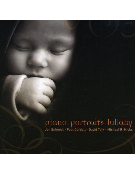 Piano Portraits Lullaby, (CD), Children's Music