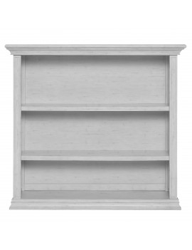Evolur Universal Bookcase, Antique Gray Mist