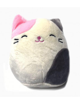 Kelly Toy Squishmallows 5 Inch Pink and Grey Cat Plush