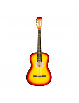 "38"" Acoustic Guitar for Kids, Gift Classic Musical Instrument Basswood Guitar Toys for Children, Orange Strings Beginner Practice Guitar for Child Kids Boys Girls, Extra Guitar String"