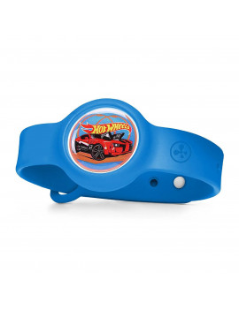Mattel nabi Fitness Compete Hot Wheels Edition Wrist Band Exercise Tracker, Blue