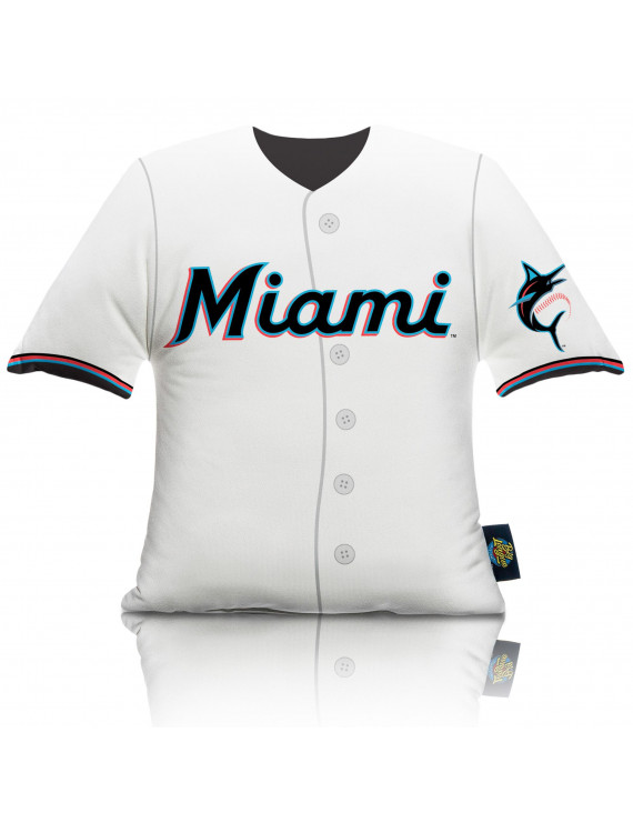 Miami Marlins Big League Uniform Pillow