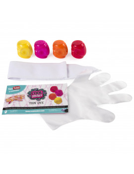 Cool Maker - Tidy Dye Sunny String Kit For Fabric Dying