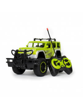 1:12 Scale Remote Control RC Cars For Kids Monster SUV High Speed Racing Truck with Lights for Boys And Girls (Green)