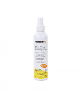 Medela Quick Clean? Breast Pump & Accessory Sanitizer Spray 8 fl oz