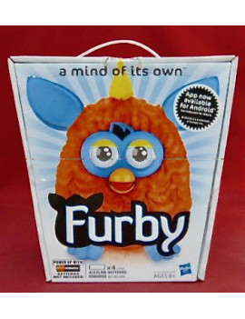 New Hasbro A Mind Of Its Own - Orange & Blue Furby