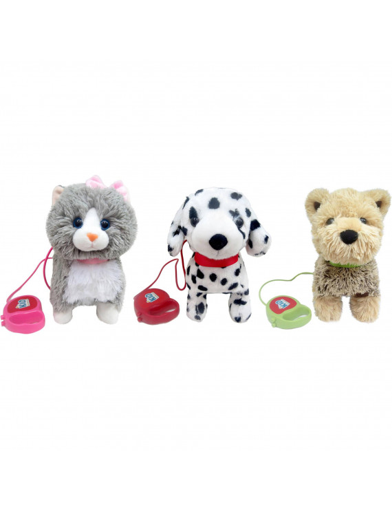 Kid Connection Sound and Lights Walking Pets (Styles May Vary)