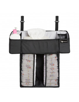4moms breeze Playard Diapers and Baby Wipes Storage Caddy |For Baby and Infant Items | from The Makers of The mamaRoo