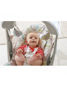 Fisher-Price Deluxe Take-Along Swing and Seat - Mocha Swirl