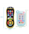 Learning Remote and Phone Toys with Music for Kids, Early Development Educational Learning Toy for Toddler J-10