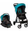 Safety 1st Smooth Ride Travel System with Infant Car Seat, Lake Blue