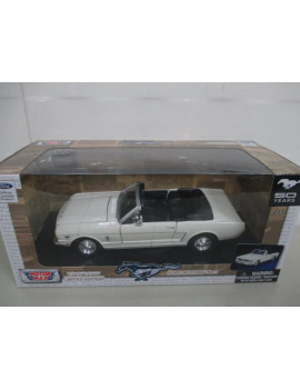 1:24 AMERICAN CLASSICS DIE-CAST CAR-1964 1/2 FORD MUSTANG CONVERTIBLE - 50TH ANNIVERSARY EDITION
