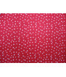 SheetWorld Fitted 100% Cotton Percale Portable Mini Crib Sheet 24 x 38, Cloudy Stars Red