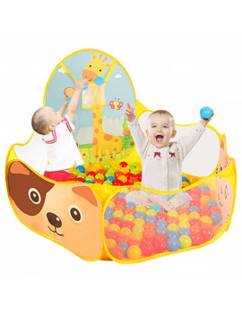 "47""x47"" Foldable Kid Children Baby Ocean Ball Pit Ball Pool Outdoor Indoor Play Toy Tent with Basket (Ball Not Included)"