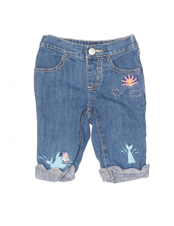 Pre-Owned Gymboree Girl's Size 18-24 Mo Jeans