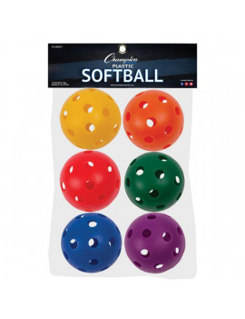 "Champion Sports 12"" Plastic Softball Set"