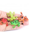 Bluelans Mini Colorful Simulation Frog Goldfish Figures Animal Bath Educational Kids Toy