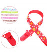 KABOER Dummy Clip Baby Soother Clips Holder Pacifier Strap Lanyard Chain