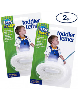 Baby Buddy Toddler Tether, Durable Adjustable Safety Wrist Leash for Toddlers, Children, Kids, Keep Safely Nearby