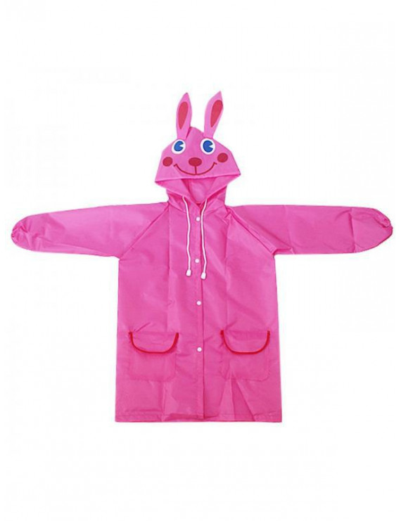 Children Cartoon Rain Coat Baby Funny Waterproof Raincoat