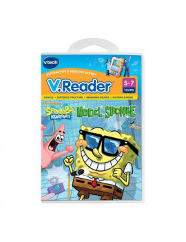 VTech V.Reader Interactive E-Reading System Cartridge, SpongeBob SquarePants