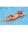 Intex 18-Pocket French Mattress Suntanner Pool Lounger Float w/ Headrest 58894EP