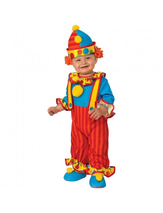 Halloween Little Clown Infant/Toddler Costume