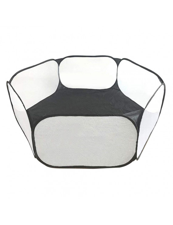 Breathable Pet Playpen Indoor Outdoor Game Folding Fence for Small Animals Cage Tent for Hamsters Rabbits Chihuahuas