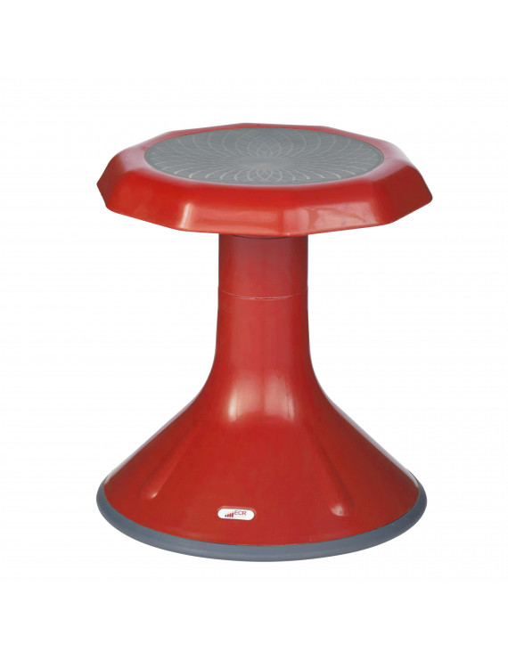 "ECR4Kids ACE Stool 15"" Red 15615RD"