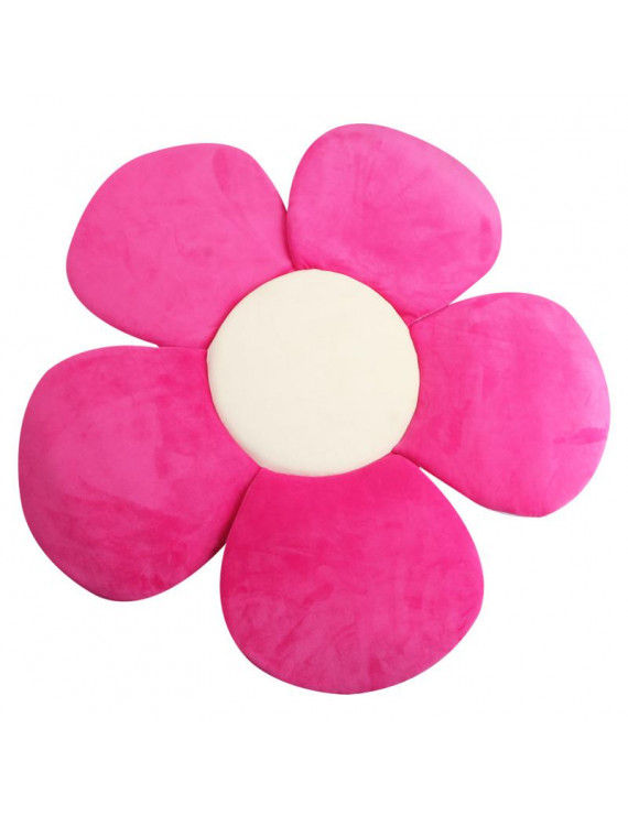 Safety Bathing Tub Flower Petal Bathtub Pad Support Mat for Newborn Baby