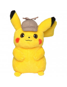 "Detective Pikachu 8"" Plush Pikachu without sound"