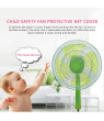 Prolriy Anti-Dust Fan Protection Child Baby Finger Fan Protector Safety Rope Cover