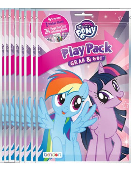 Party Favors - My Little Pony - Grab and Go Play Pack - 8ct