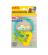 Nuby Chewy Charms Silicone Teether,