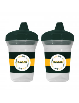 Baby Fanatics NCAA Baylor 2-Pack Sippy Cups