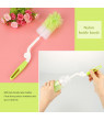 Kritne Feeding Bottle Cleaning, Baby Bottle Cleaning, 7Pcs/ Set Baby Feeding Bottle Cleaning Brushes Sponge Nylon Children Milk Cleaning Tools