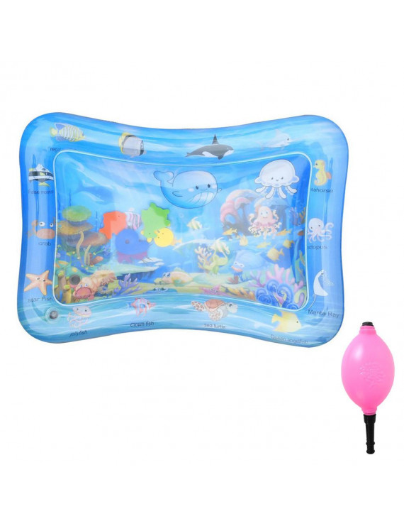 Inflatable Baby Water Mat Fun Activity Play Center for Children & Infants Toy