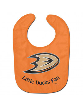 Anaheim Ducks Official NHL Infant One Size Baby Bib by McArthur 206299