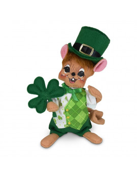 Annalee Dolls 2020 St. Patrick's Day 6in Irish Boy Mouse Plush New with Tags