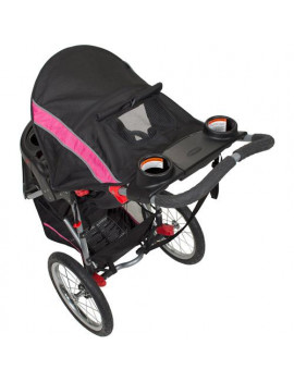 Baby Trend Expedition Jogging Stroller, Bubble Gum