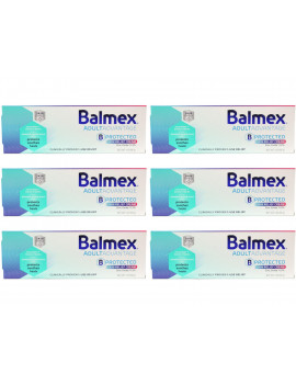6 Pack - Balmex Adult Care Rash Cream 3oz Each
