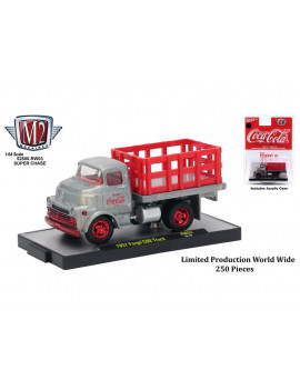 """Coca-Cola"" Release 3, Set of 3 Cars Limited Edition to 4,800 pieces Worldwide Hobby Exclusive 1/64 Diecast Models by M2"