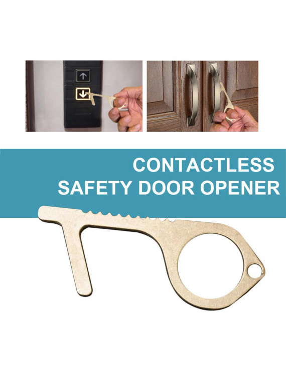 The Safe And Easy Way To Avoide Germs-Contactless Safety Isolation Brass Key