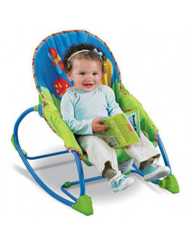 Fisher-Price - Infant to Toddler Rocker, Snail